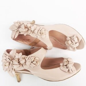 Anthropologie Miss Albright Luisa Kitten Heel Shoe